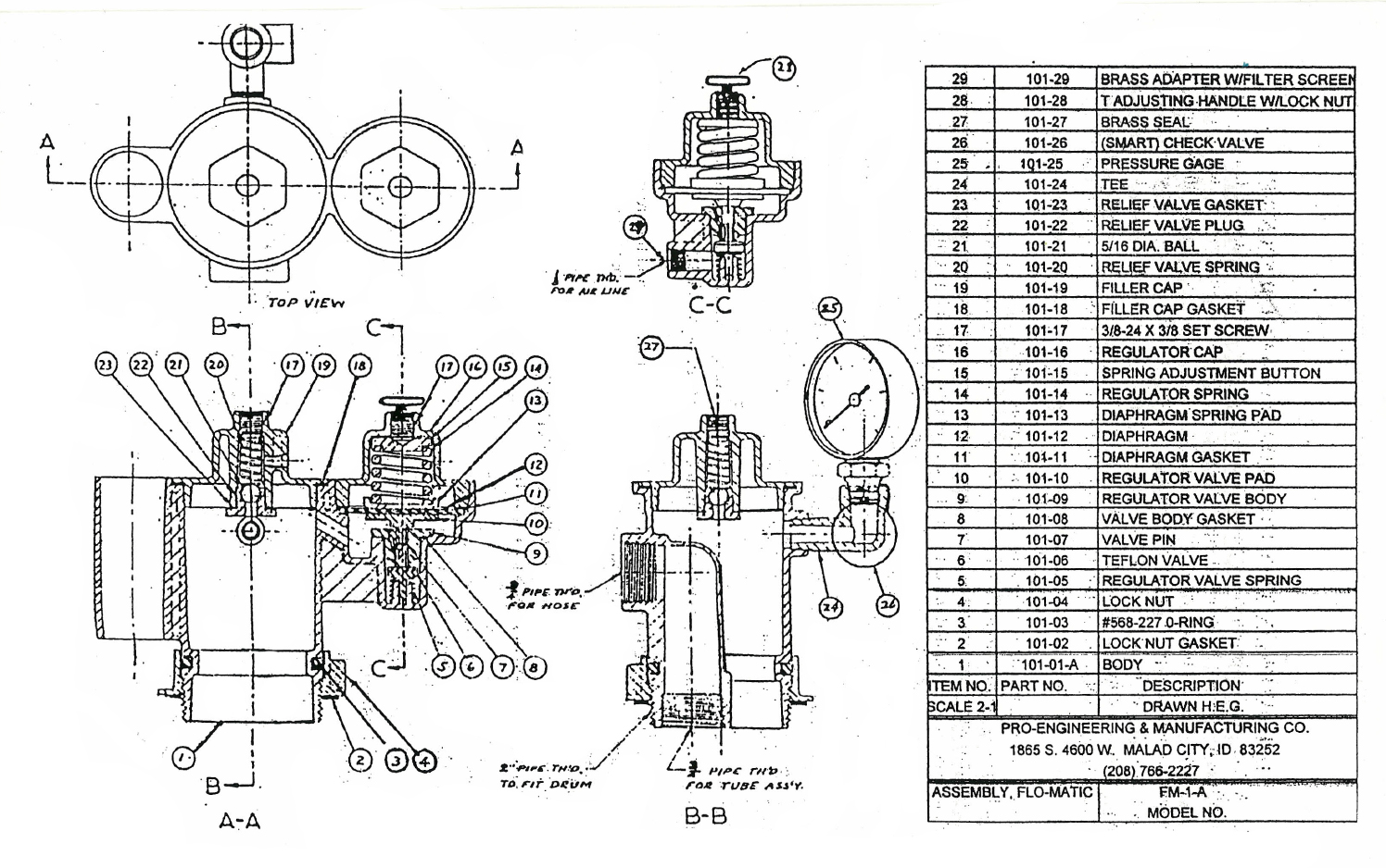 Parts List Marlin Model 1894 Diagram