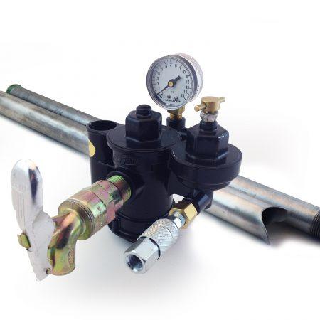 drum pump with valve